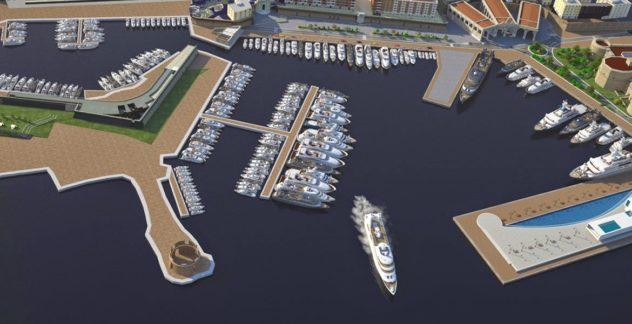 Il porto romano avrà 188 posti barca per yatch da 15 a oltre 100 mt