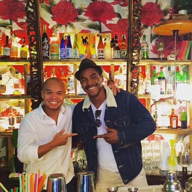 Ricardo Takamitsu e Laercio Zulu
