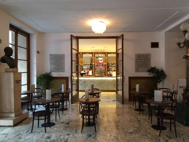 La sala del Caffè dell'Opera