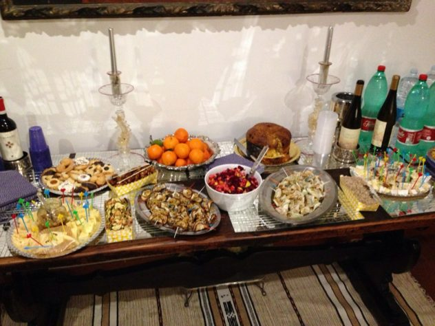 Un buffet di Chef4Living