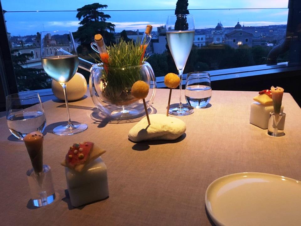 La Terrazza all\'Hotel Eden, finestra internazionale di Ciervo su Roma