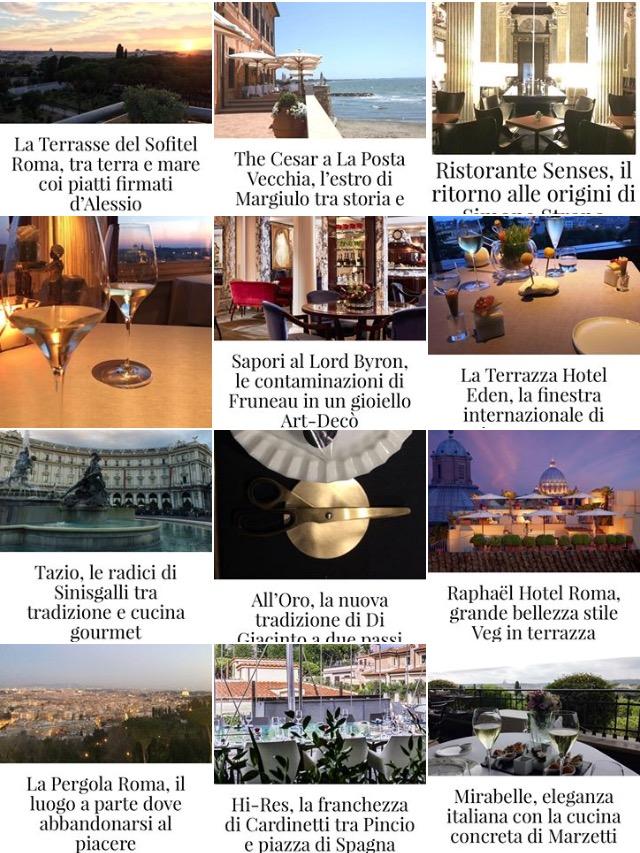Ristoranti Di Lusso Roma Viaggio Nella Bellezza Tra Top Gourmet