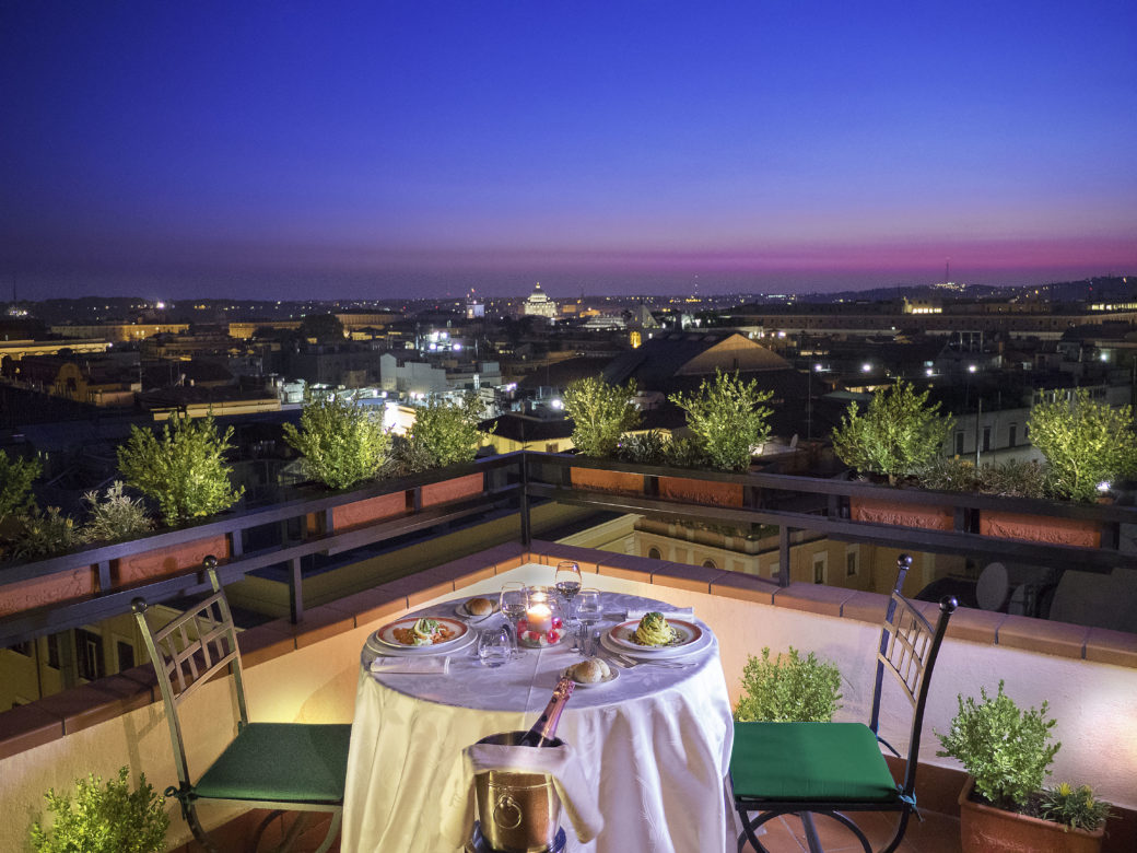 Roof Garden L Uliveto Un Giardino Segreto Sui Tetti Di Roma