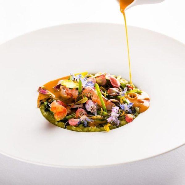 Un piatto di Imàgo per i Dining Bond a Roma