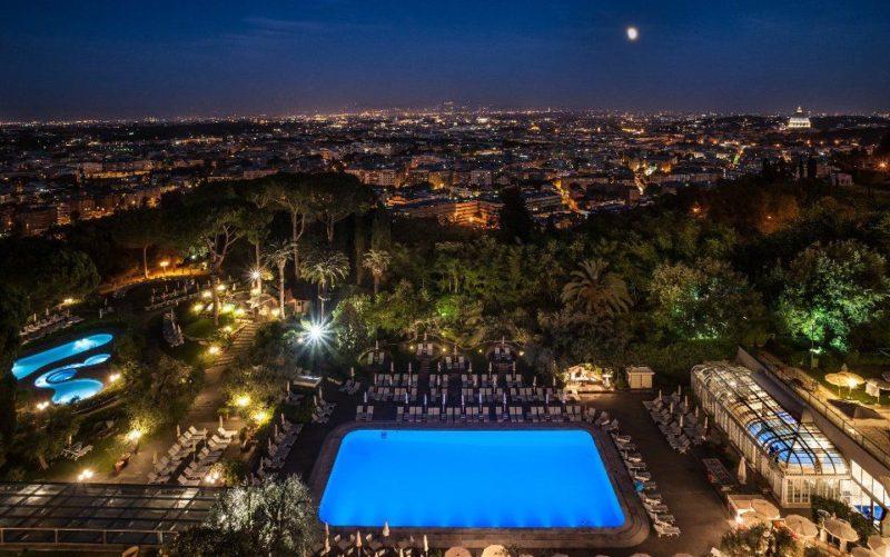 Vista 101, la nuova Lounge panoramica del Rome Cavalieri Waldorf Astoria